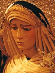 Imagen de la Soledad. / Foto: Hdad. de La Soledad.