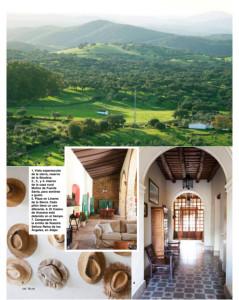 La revista alaba la belleza de los pueblos serranos onubenses.