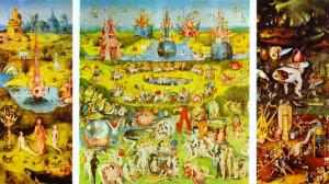 El cuadro 'El jardín de las delicias' de El Bosco está muy presente en el libro.