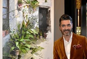 El artista ayamontino Juan Galán expone su nueva colección.