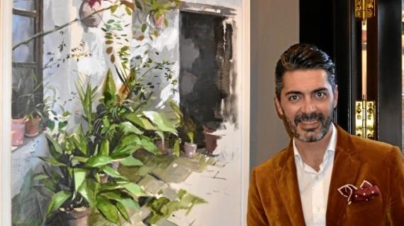 El artista Juan Galán expone su nueva colección en la Galería Passage de Ayamonte