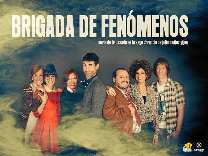 'Brigada de Fenómenos', nueva serie de Canal Sur Televisión.