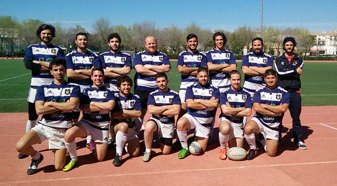 Formación del Bifesa Tartessos en el torneo disputado en Écija.
