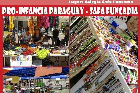 El colegio Safa Funcadia organiza el IV Mercadillo Solidario para ayudar a niños de Paraguay