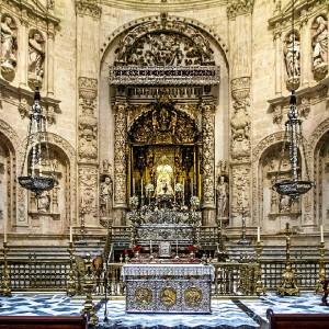 Capilla Real de la Catedral de Sevilla.