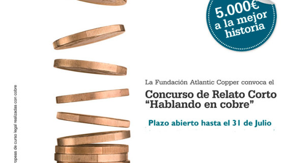 Comienza la cuarta edición del Concurso de Relato Corto 'Hablando en cobre'