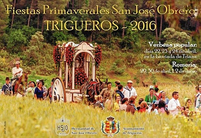 Trigueros vive con intensidad su romería en honor a San José Obrero