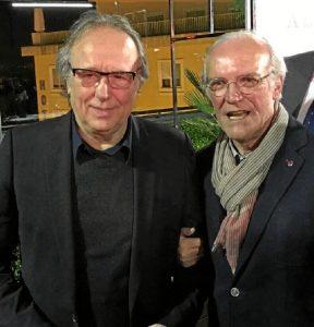 Casto, con Joan Manuel Serrat.