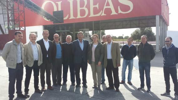 Las cooperativas de Olibeas y Candón se hermanan para crecer y generar valor añadido
