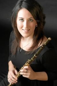Sherezade Jurado Navarro es una virtuosa de la flauta.