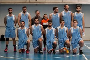El equipo de baloncesto masculino de la UHU.