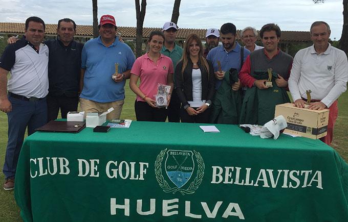 Cristóbal Guerrero Vidarte, vencedor scratch de la primera prueba del Circuito Atlántico de Golf