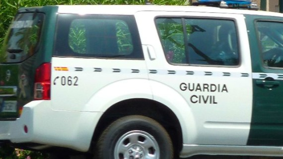 La Guardia Civil localiza en Cala a tres menores desaparecidos acompañados de un adulto