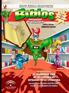 Su cómic ha logrado que los niños se interesen por la bibliotecas.