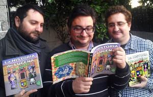 Los tres Hermanos Macías.