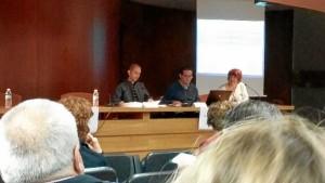 Imagen de la participación de Trigueros en el encuentro.