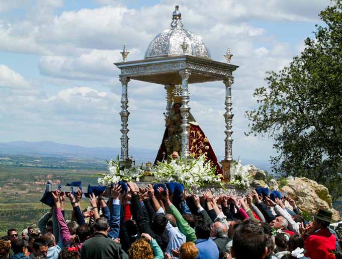 La Romería de la Virgen de la Peña, suspendida