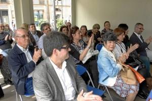 Algunos de los asistentes a la presentación del libro. / Foto: José Rodríguez.