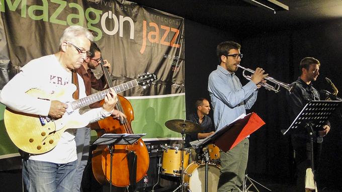 La mejor música jazz fue protagonista durante el fin de semana en Mazagón