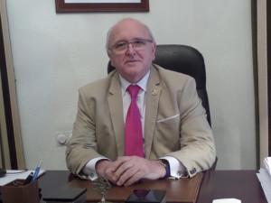 El presidente del Colegio de Médicos, Antonio Aguado.
