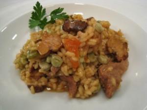 Arroz con turmas, un plato típico de El Almendro. / Foto: blog Canal Sur.