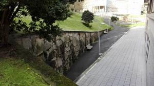Zona de la caída del pequeño Roque.