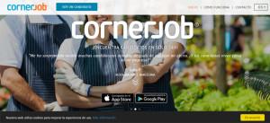 Cornerjob permite encontrar trabajo de manera rápida y sencilla.