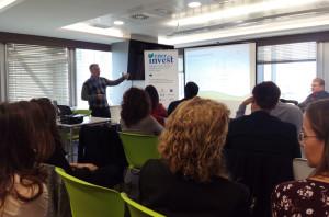 Presentación del proyecto en Madrid.
