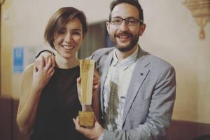 Junto a Damián López ha ganado un Premio Andaluz de Diseño 2016.