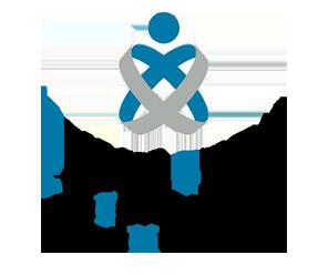 Logotipo del Colegio Oficial de Enfermería de Huelva.