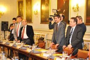 La reunión ha tenido lugar en Madrid.