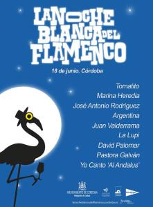 noche blanca del flamenco cordoba 2016