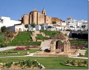 Vista general del pueblo de Palos de la Frontera