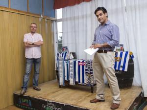 Juan Carlos Jara y José Ángel González sacan adelante esta publicación.