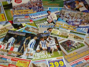 Ejemplares de la revista 'Recremanía'.