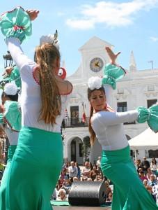 La iniciativa se celebra este sábado 14 de mayo la Plaza Redonda de Cartaya.