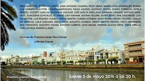 Ayamonte acoge un recital poético a cargo de 'Poetas por la Paz'
