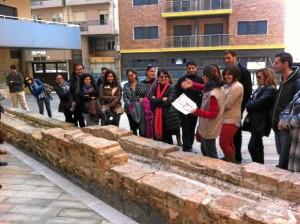 Imagen de una visita anterior a 'La Huelva Enterrada'.