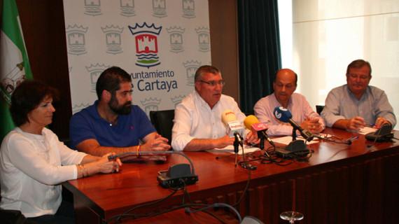 Cartaya impulsa un Plan de Mejora de los Caminos Rurales