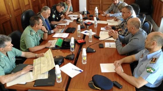 Acuerdo para actualizar y reforzar las medidas de seguridad ciudadana en Beas