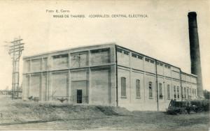 Central Térmica de Corrales. / Foto: Archivo Municipal de Aljaraque.