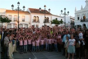 Jóvenes de todas las edades participaron en la multitudinaria fiesta deportiva y artística