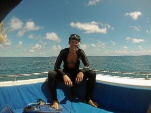 Fernando recomienda a los onubenses vivir una experiencia en el extranjero.