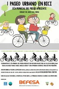 Cartel de la actividad que se celebrará  en Nerva en el Día Mundial del Medio Ambiente.