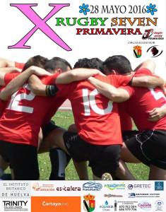 Cartel del torneo de rugby Seven Primavera, un evento ya consolidado.