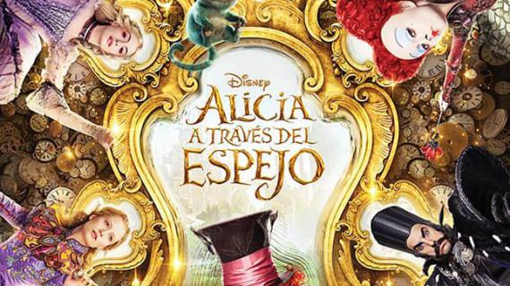 Los cines de Holea acogen este jueves 26 el preestreno de 'Alicia a través del espejo'