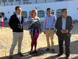 Visita al Ceip Hermanos Arellano de Galaroza.