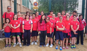 Deportistas del CODA Huelva que han destacado en el Campeonato en Mairena del Aljarafe.