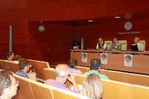 Momento del XXX Curso Metológico-Didáctico. La Minería en la provincia de Huelva. Un nuevo ciclo productivo.