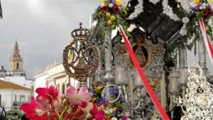 Carreta de la centenaria Hermandad de Moguer.
